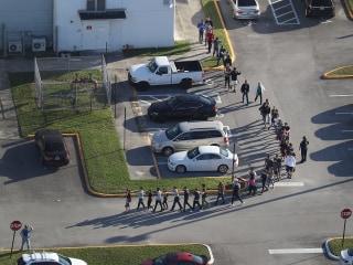 Florida school shooting: Teachers describe chaos as students fled gunman