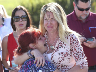 Florida school shooting leaves families distraught