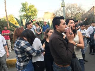 Powerful earthquake slams south, central Mexico
