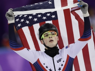 Krueger wins first USA individual speed skating medal since 2010
