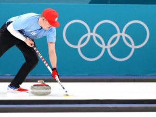 Curling meets Super Mario: You've never seen the sport like this