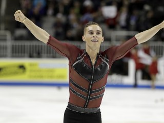Rippon turns down position with NBC, will keep athlete status