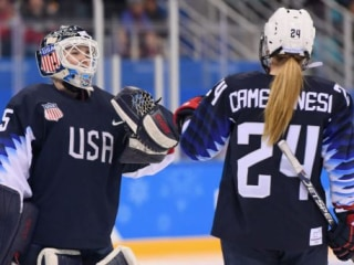 Team USA women's hockey earns spot in gold medal game