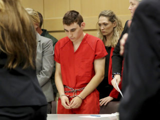 Florida school shooting suspect Nikolas Cruz stays silent during second court appearance