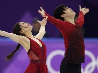 Shibutani siblings win bronze medal in ice dance