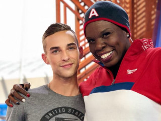 SNL's Leslie Jones, Adam Rippon team up for hilarious Olympic commentary