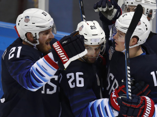 What you missed: Shibutanis shine; USA men's hockey advances