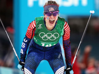 Team USA makes history with first-ever Olympic gold medal in cross-country skiing