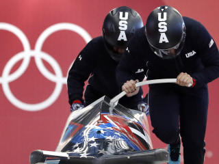 Team USA brings home silver medal in women's bobsled