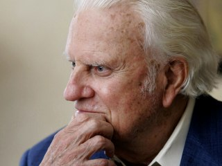 Billy Graham: A guidestar for preachers, as well as millions of followers