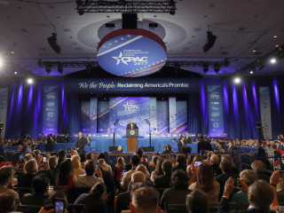 Conservative clash over Trump sets stage for CPAC gathering