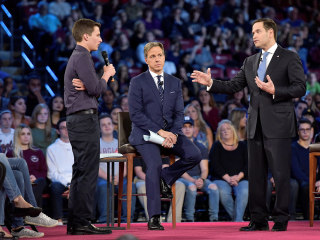 Rubio grilled by Parkland shooting students, parent