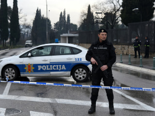 U.S. Embassy in Montenegro is attacked with hand grenade