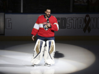 NHL goalie, Parkland resident gives emotional speech about shooting