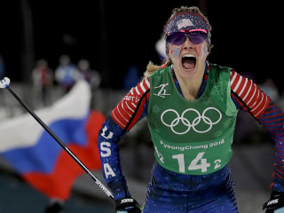 Cross-country skiing hero named U.S. flag bearer for closing ceremony