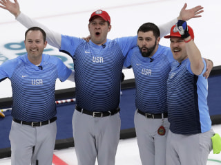Team USA wins first Olympic curling gold medal in history