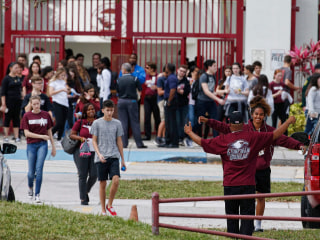 Parkland school shooting: Students return to classes