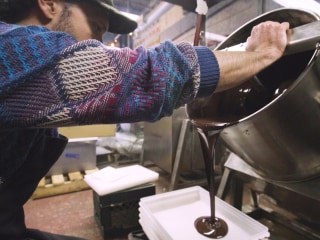 Childhood dreams inspire New York chocolate factory