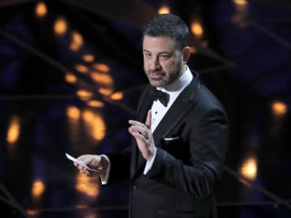 Jimmy Kimmel opens Oscars with barbs about sexual misconduct, Harvey Weinstein