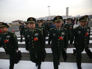 China boosts defense spending, cites 'war preparedness'