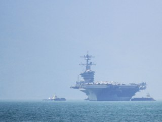 Vietnam hosts U.S. aircraft carrier for first time since war