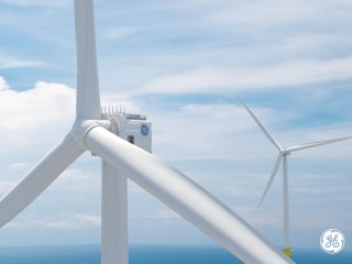 World's tallest offshore wind turbine will tower over iconic buildings