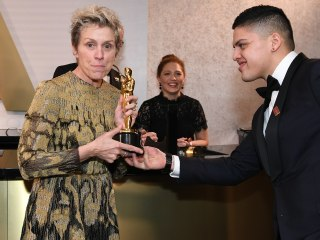 Frances McDormand's alleged Oscar thief arrested after best actress statue swiped