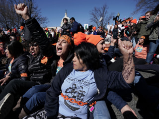With no permanent immigration fix by DACA deadline, Dreamers amp political mobilization