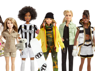Barbie releases new dolls to mark International Women's Day