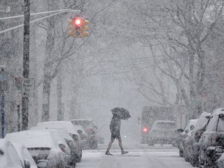 Nor'easter slams East Coast... again