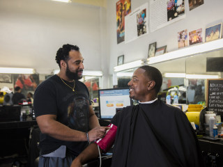 Cutting hair and blood pressure: How black barbershops can save lives