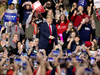'Keep America Great': After year in office, Trump unveils 2020 campaign slogan