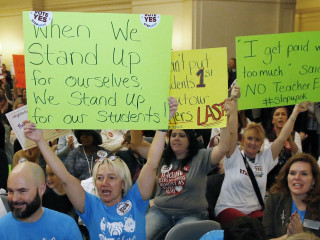 West Virginia teachers strike: Other states with low pay could also see labor action