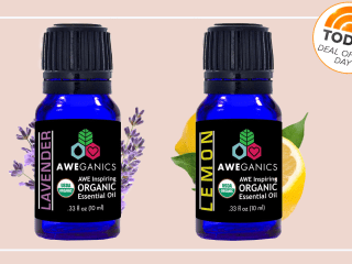 Deal of the Day: 50 percent off organic, natural essential oils from Aweganics