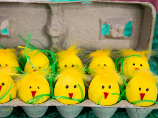 Peep these 6 super-easy Easter DIY decor and snack ideas
