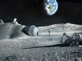 Moon bases being planned now may show us how to live off-planet