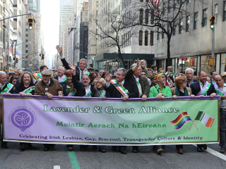Fighting Irish: Battle for LGBTQ inclusion in St. Patrick's Day parades continues