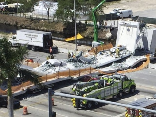 Another Miami bridge collapse suit to be filed after 'soul mates' joint funeral
