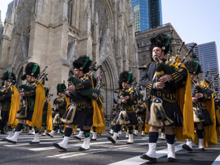 Cities glow green in celebration of St. Patrick's Day