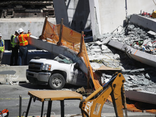 Family of truck driver killed in Florida bridge collapse sues builders