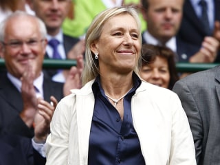 Martina Navratilova says BBC paid John McEnroe ten times more