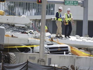 First lawsuit filed in Miami bridge collapse filed by bicyclist knocked down by car
