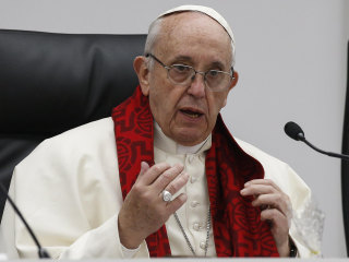 Pope Francis condemns forced prostitution as torture in Vatican speech