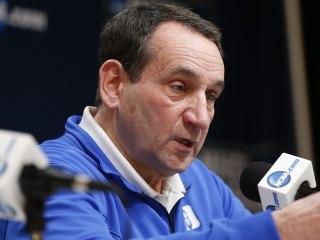 Coach K denies stealing Syracuse's defensive scheme