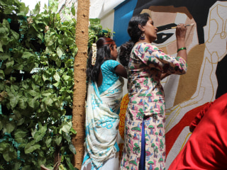 'We exist': Public art project gives India's transgender community a voice