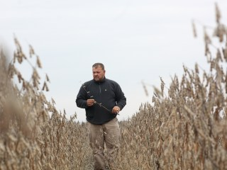 American farmers in Trump-voting states may get hit hardest by a trade war