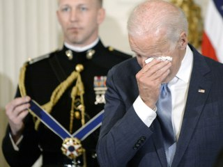 Trump and Joe Biden's Twitter feud proves how threatened Trump is by men who can cry