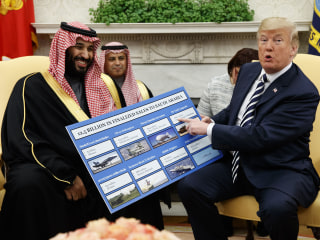 U.S. sells 6,700 missiles to Saudi Arabia as part of $1 billion deal