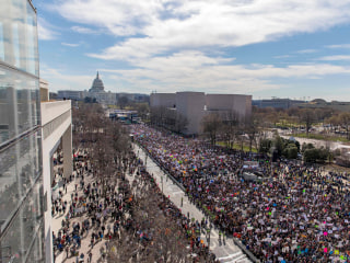At March For Our Lives, survivors lead hundreds of thousands in call for change
