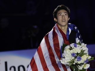 Nathan Chen rebounds from Olympics, cruises to world title